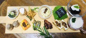 麹を使った調味料と発酵ジュースを使った 「ツク置き発酵プレート」 @ ATTiVAリビングフード・アカデミー